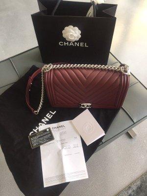 Chanel Handtas donkerrood