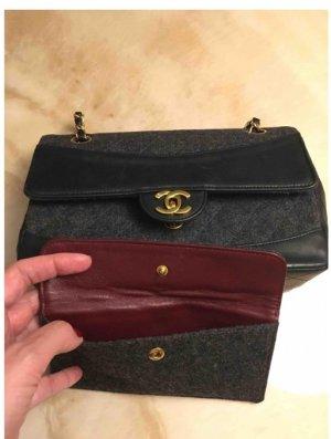 Chanel Shoulder Bag black-anthracite leather