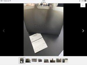 Chanel Bolsa gris
