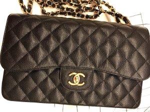 Chanel Timeless Double Flap Caviar Original +Rechnung+ OVP (Box,Staubbeutel+Authentizität Kärtchen