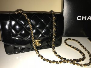 Chanel Frame Bag black leather