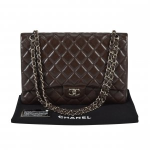 Chanel Timeless Maxi Jumbo Single Flap Bag @mylovelyboutique.com