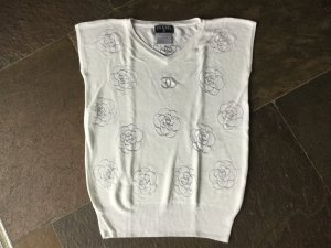 Chanel Top in wollweiss