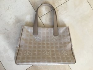 Chanel Tote oatmeal-beige polyester
