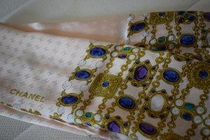 Chanel Silk Scarf multicolored