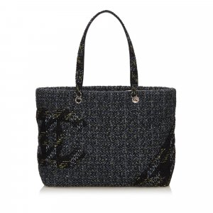 Chanel Tweed Cambon Ligne Tote Bag