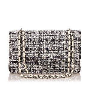 Chanel Tweed Classic Medium Double Flap Bag