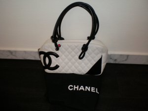 Chanel Bag white-black leather