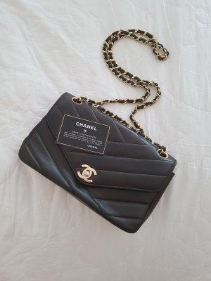 Chanel Umhängetasche, schwarz, Original