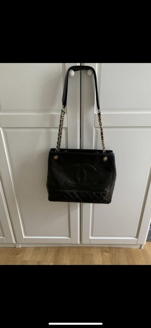 Chanel Sac bandoulière brun noir