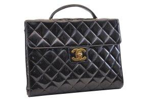 Chanel Borsetta nero Fibra tessile