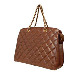 Chanel Handbag brown leather