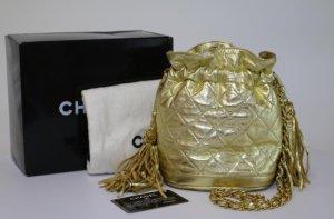 Chanel Vintage Tasche - Gold Drawstring