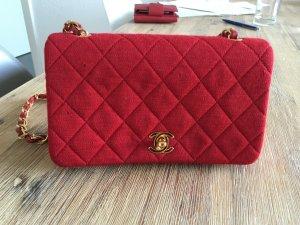 Chanel Vintage Tasche rot