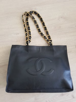 Chanel Vintage Timeless Tote Jumbo XXL Black