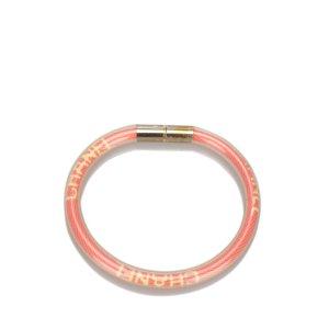 Chanel Braccialetto sottile arancione Clorofibra
