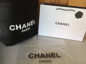 Chanel  Vip-Gift Denim/BaumwolleTasche/Shopper Groß-38 x 33 x 10 cm Neu