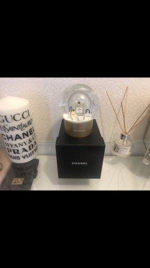 Chanel VIP Schneekugel Gold Neu