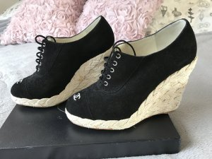 Chanel Wedges mit Schnürung