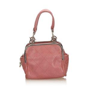 Chanel Wild Stitch Lambskin Handbag