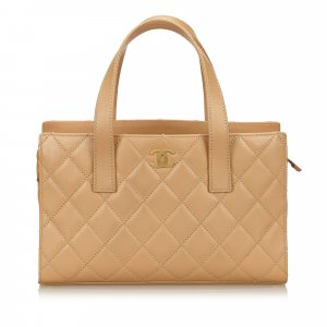 Chanel Wild Stitch Leather Handbag