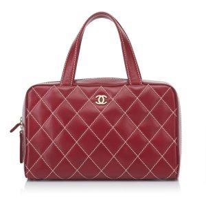Chanel Wild Stitch Leather Handbag