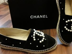 Chanel Mocassins noir cuir
