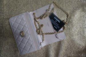 Chanel Borsa a spalla oro-rosa antico