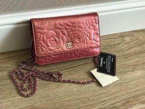 Chanel Sac à main rouge foncé