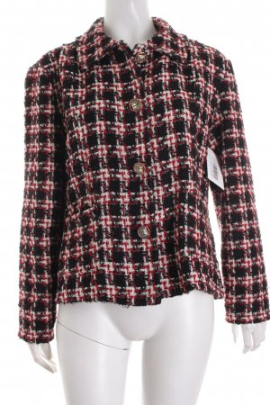 Chanel Wool Blazer check pattern casual look