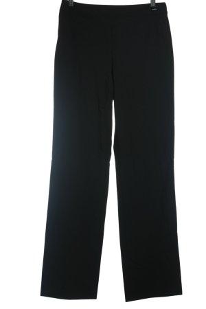 Chanel Wollhose schwarz klassischer Stil