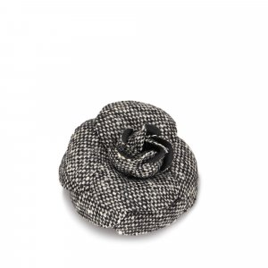 Chanel Wool Camellia Brooch