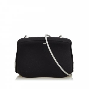 Chanel Wool Crossbody Bag