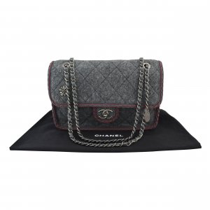 Chanel Wool Flap Bag @mylovelyboutique.com