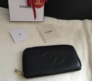 Chanel Zippy Geldbörse Kaviar