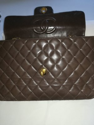 Chanel Borsetta marrone scuro