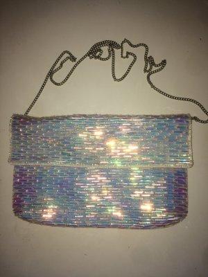Changierende Handtasche