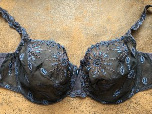 Chantelle Bra blue-black