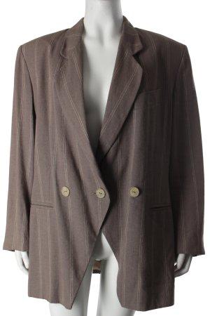 Charisma Blazer grey brown-natural white striped pattern business style