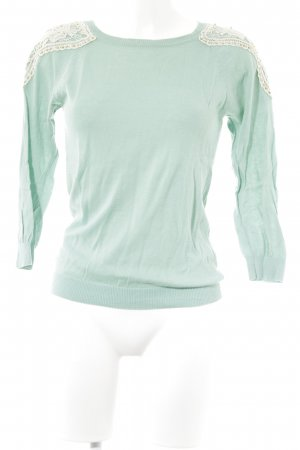 Charisma Knitted Sweater turquoise casual look