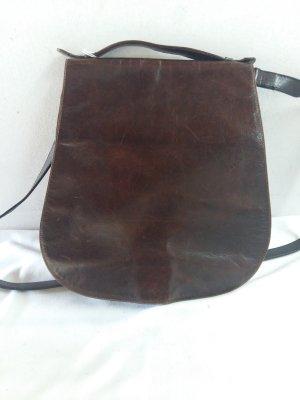 Charles Jourdan Crossbody bag bordeaux leather