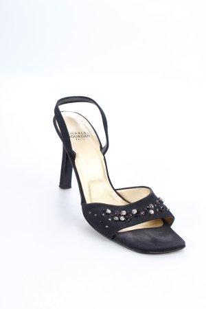 Charles jourdan High Heel Sandaletten schwarz Eleganz-Look