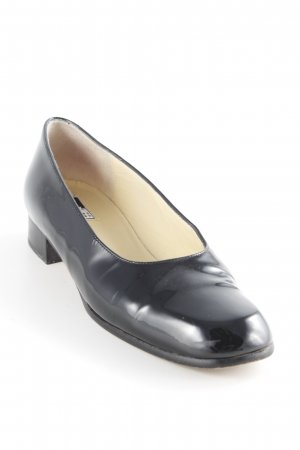 Charles Jourdan Lackballerinas schwarz Casual-Look