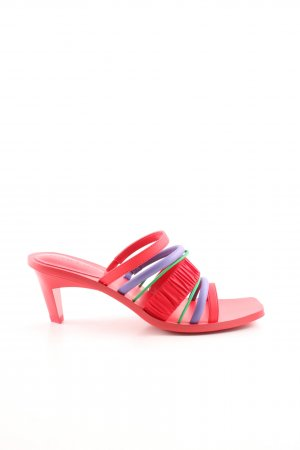 Charles & Keith Strapped High-Heeled Sandals multicolored extravagant style