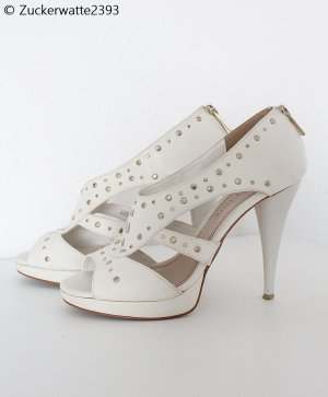 Charles & Keith High Heel Sandal white-silver-colored