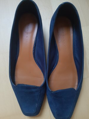 Charles & Keith Moccasins blue