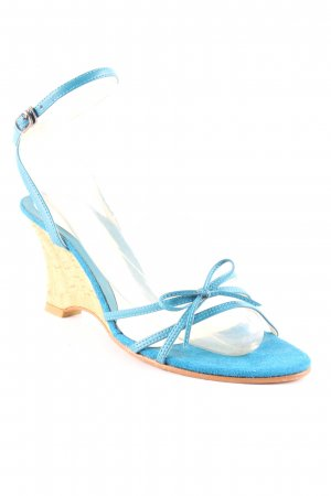 Charles & Keith Wedge Sandals multicolored party style