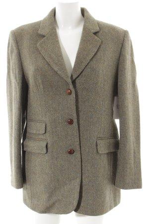 Charles Robertson Long-Blazer graubraun-blassgrün Business-Look