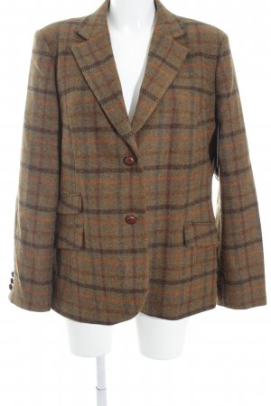 Charles Robertson Woll-Blazer Karomuster Casual-Look