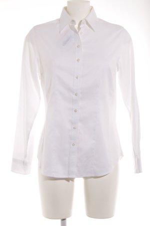Charles Tyrwhitt Hemd-Bluse wollweiß Business-Look